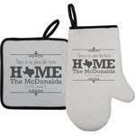 Home State Oven Mitt & Pot Holder (Personalized)