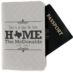 Home State Passport Holder - Fabric (Personalized)