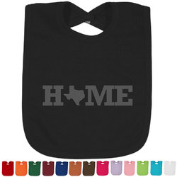Home State Baby Bib - 14 Bib Colors (Personalized)