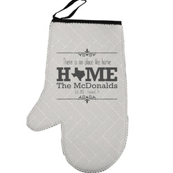 Home State Left Oven Mitt (Personalized)