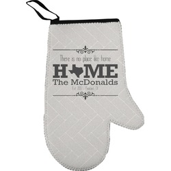 Home State Right Oven Mitt (Personalized)