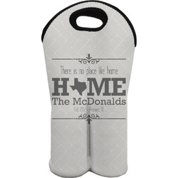 Home State Wine Tote Bag (2 Bottles) (Personalized)