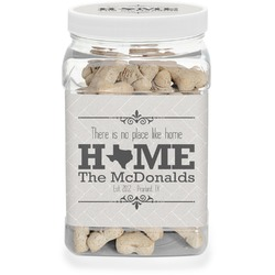 Home State Pet Treat Jar (Personalized)