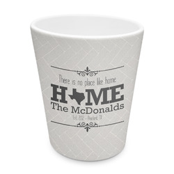 Home State Plastic Tumbler 6oz (Personalized)