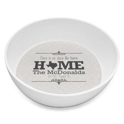 Home State Melamine Bowl 8oz (Personalized)