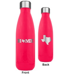 Home State RTIC Bottle - 17 oz. Pink - Engraved Front & Back (Personalized)