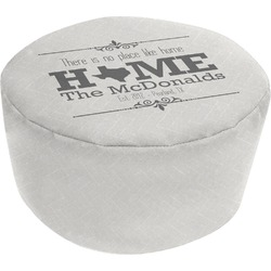 Home State Round Pouf Ottoman (Personalized)