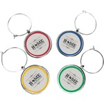 Home State Wine Charms (Set of 4) (Personalized)