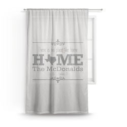 Home State Sheer Curtains (Personalized)