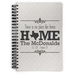 Home State Spiral Bound Notebook (Personalized)