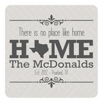 Home State Square Decal - Custom Size (Personalized)