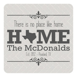 Home State Square Decal - Medium (Personalized)