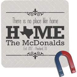 Home State Square Fridge Magnet (Personalized)