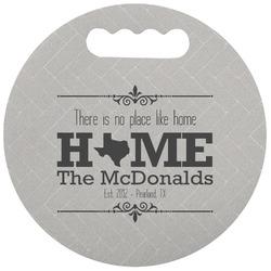 Home State Stadium Cushion (Round) (Personalized)