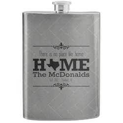Home State Stainless Steel Flask (Personalized)