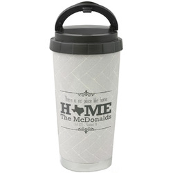 Home State Stainless Steel Travel Mug (Personalized)