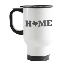 Home State Stainless Steel Travel Mug with Handle
