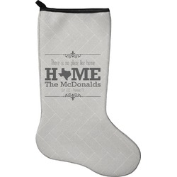 Home State Holiday Stocking - Neoprene (Personalized)
