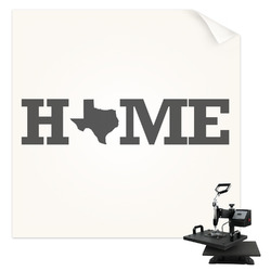 Home State Sublimation Transfer (Personalized)