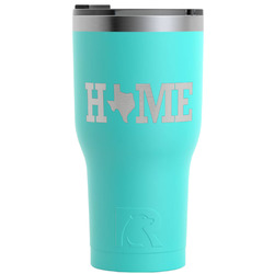 Home State RTIC Tumbler - Teal - Engraved Front (Personalized)