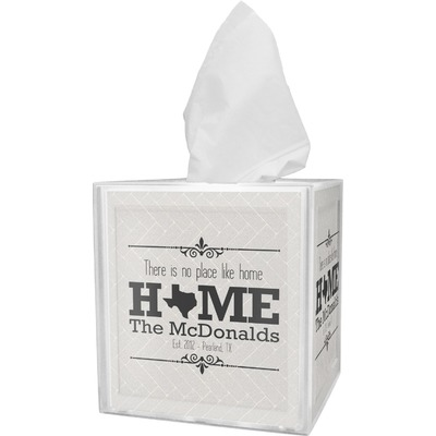 Home State Tissue Box Cover (Personalized)