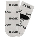 Home State Toddler Ankle Socks (Personalized)