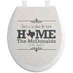 Home State Toilet Seat Decal (Personalized)