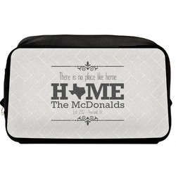 Home State Toiletry Bag / Dopp Kit (Personalized)