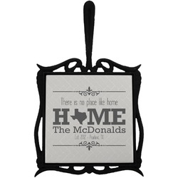 Home State Trivet with Handle (Personalized)