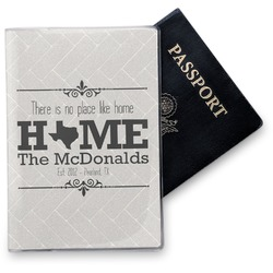 Home State Vinyl Passport Holder (Personalized)