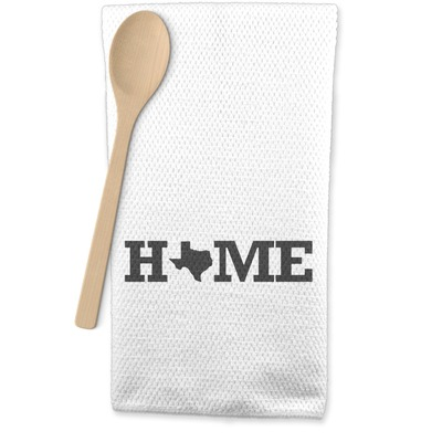 Home State Waffle Weave Kitchen Towel (Personalized)