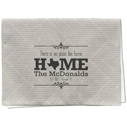 Home State Waffle Weave Kitchen Towel - Full Print (Personalized)