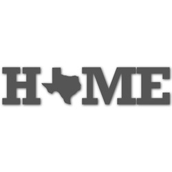 Home State Graphic Decal - Custom Sizes (Personalized)