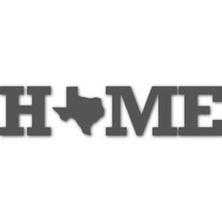 Home State Name/Text Decal - Custom Sized (Personalized)