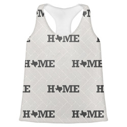 Home State Womens Racerback Tank Top (Personalized)