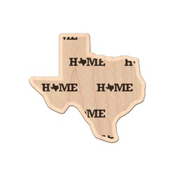 Home State Genuine Maple or Cherry Wood Sticker (Personalized)