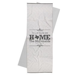 Home State Yoga Mat Towel (Personalized)