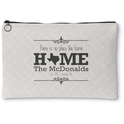 Home State Zipper Pouch (Personalized)