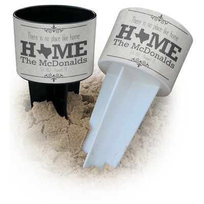 Home State Beach Spiker Drink Holder (Personalized)