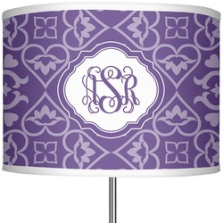 "Lotus Flower 13"" Drum Lamp Shade (Personalized)"