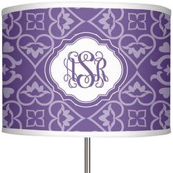 "Lotus Flower 13"" Drum Lamp Shade (Personalized)"
