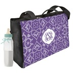 Lotus Flower Diaper Bag w/ Monogram