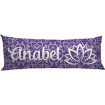Lotus Flower Body Pillow Case (Personalized)