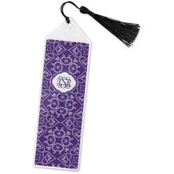 Lotus Flower Book Mark w/Tassel (Personalized)