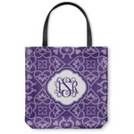 Lotus Flower Canvas Tote Bag (Personalized)