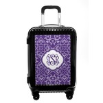 Lotus Flower Carry On Hard Shell Suitcase (Personalized)