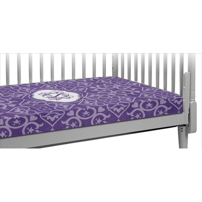 Lotus Flower Crib Fitted Sheet (Personalized)