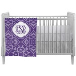 Lotus Flower Crib Comforter / Quilt (Personalized)