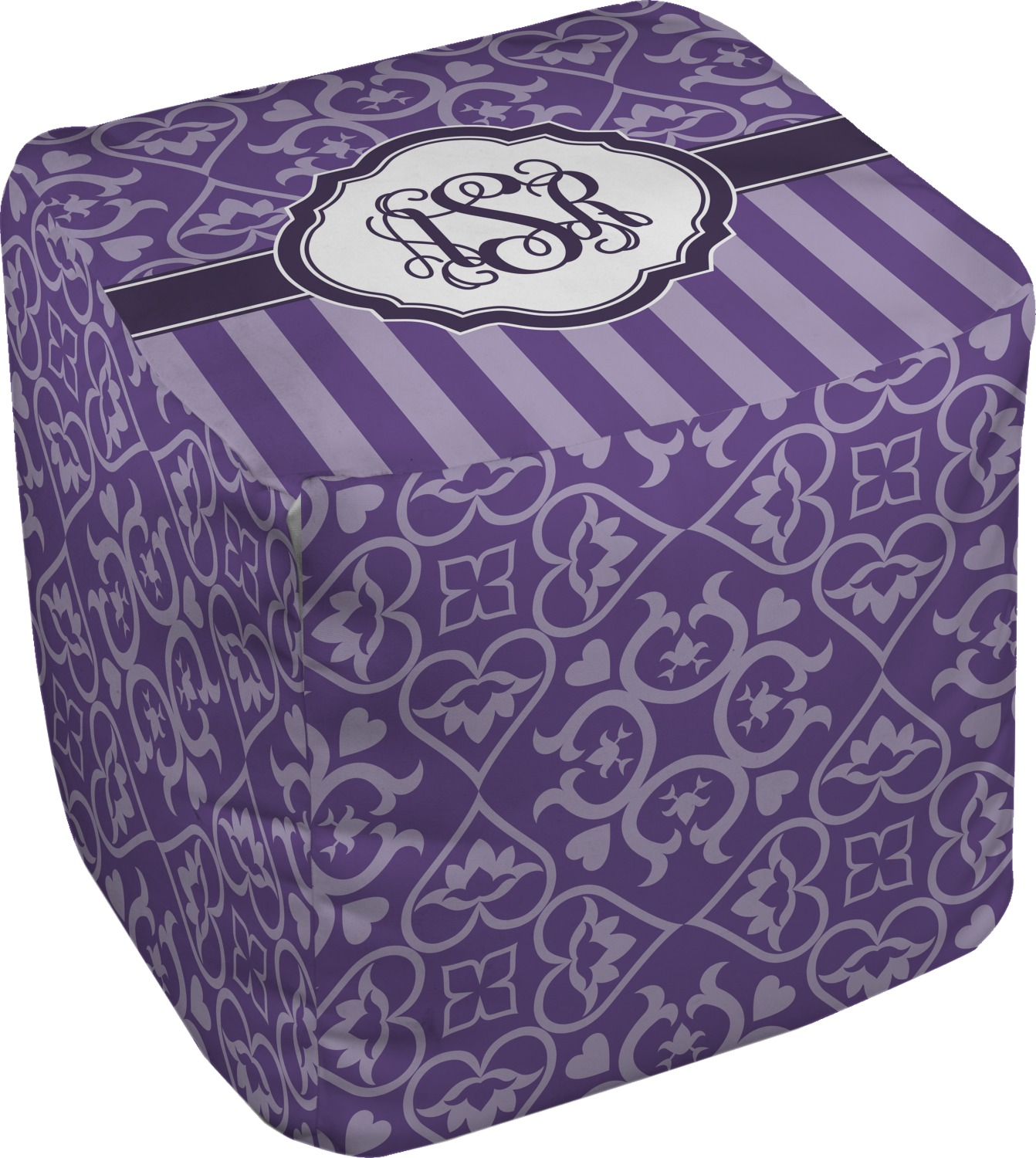 lotus flower cube pouf ottoman 13 personalized you. Black Bedroom Furniture Sets. Home Design Ideas