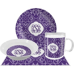 Lotus Flower Dinner Set - 4 Pc (Personalized)